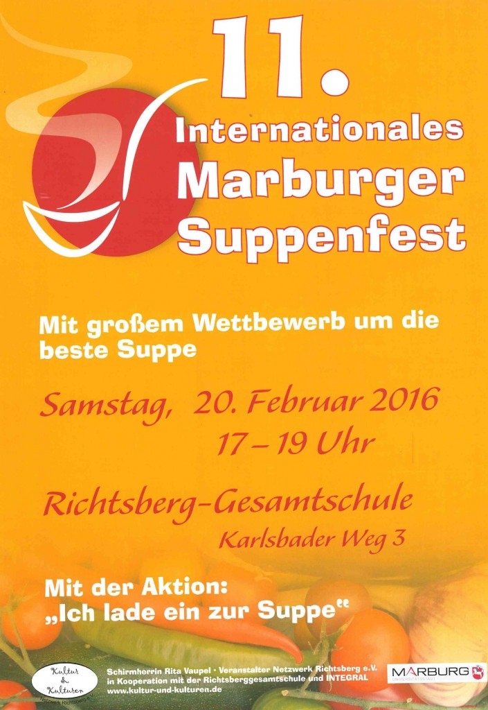 11. Internationales Marburger Suppenfest