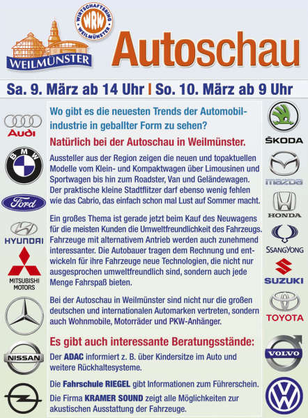 Autoschau in Weilmünster 2019