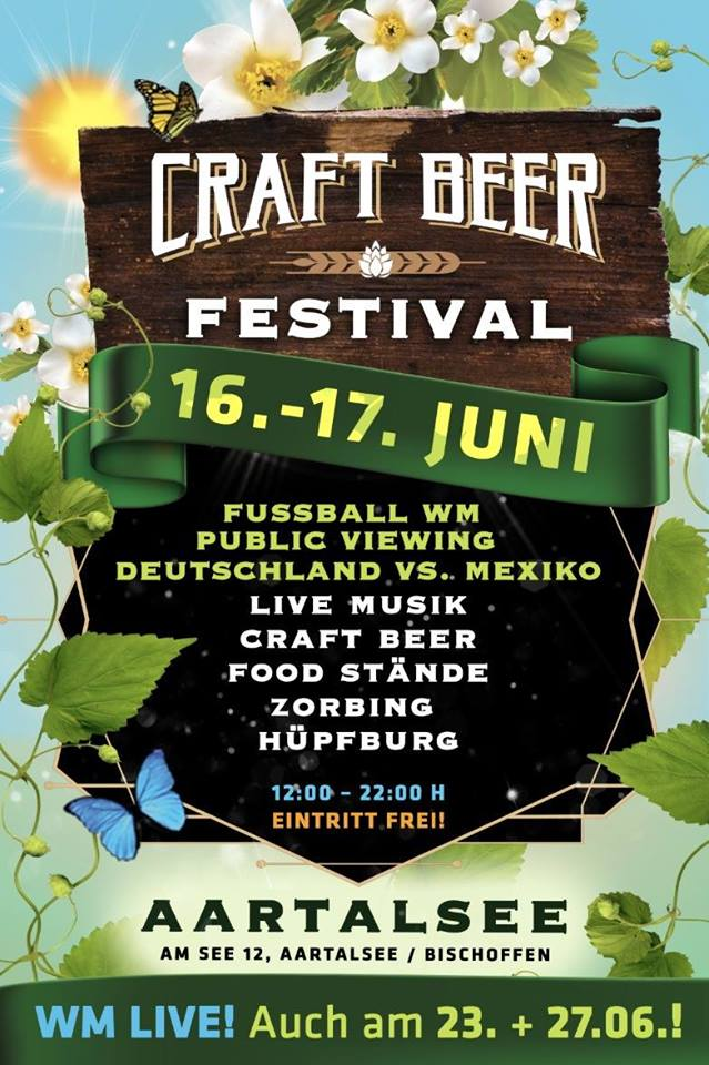 1. Craft Beer Festival am Aartalsee