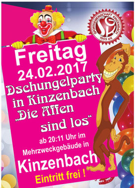 Dschungelparty in Kinzenbach