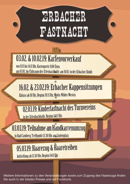 2. Kappensitzung in Erbach 2019