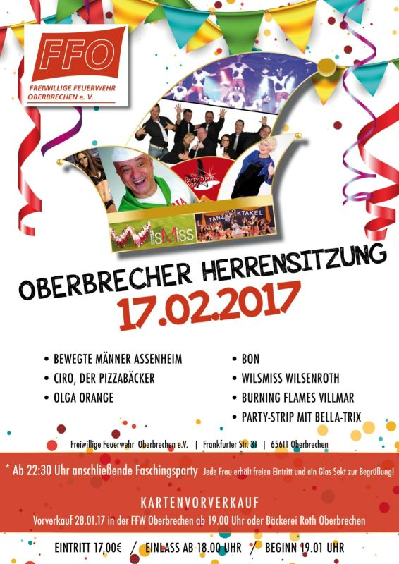 Herrensitzung in Oberbrechen 2017