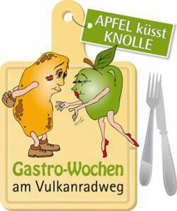 Apfel küsst Knolle