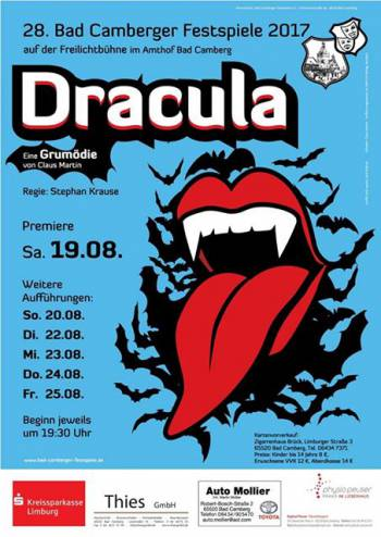 28. Bad Camberger Festspiele mit Dracula