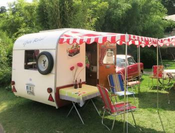 Camping quer durch Hessen