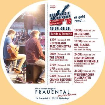"""""""Gude Musik 2016"""" in Biedenkopf"""