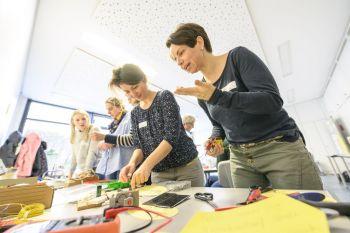 Neue Fortbildung von Mathematikum Gießen und Stiftung Haus der kleinen Forscher