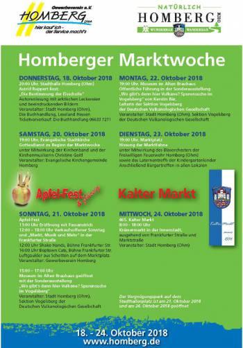 Homberger Marktwoche 2018