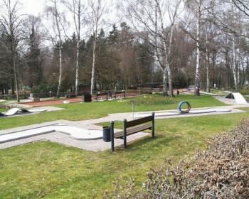 Minigolf-Platz im Kurpark Bad Camberg