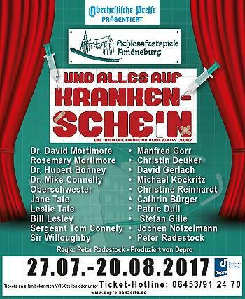 Schlossfestspiele Amöneburg 2017!