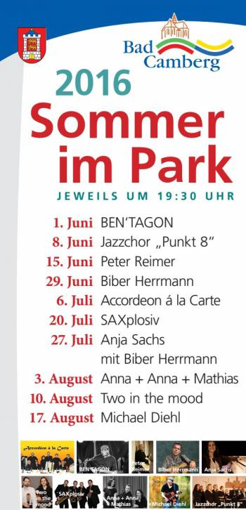 Sommer im Park in Bad Camberg