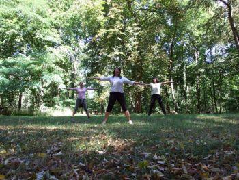 Wald-Yoga ...zur Ruhe kommen in und mit der Natur...
