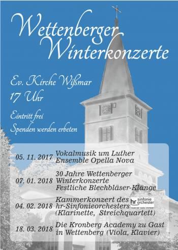 30 Jahre Wettenberger Winterkonzerte