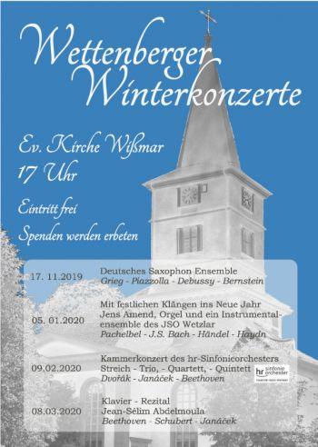 Wettenberger Winterkonzerte 2019/20
