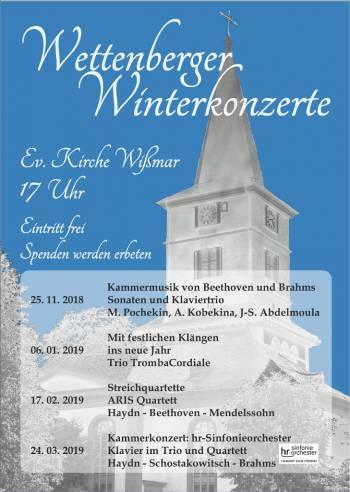 Wettenberger Winterkonzerte 2018/2019