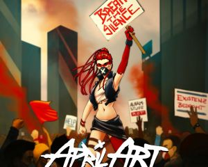 "April Art setzen mit ""Break The Silence"" ein Zeichen"