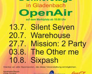Donnerstags in Gladenbach 2017