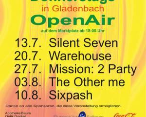 Donnerstags in Gladenbach 2017