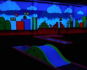 Indoor Minigolf Schwarzlicht in Herborn