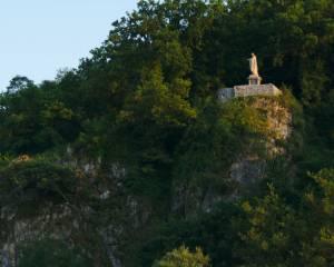 König-Konrad-Denkmal on Villmar