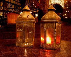 Braunfels im Advent – drei Stadtführungen bei Kerzenschein und Glühwein