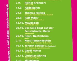 20. Marburger Kabarettherbst