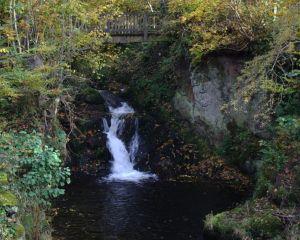 Nidda-Wasserfall in Schotten
