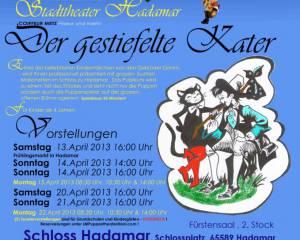 Fürstliches Puppentheater Hadamar: Der gestiefelte Kater
