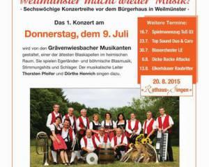 Rathaus-Konzerte 2015