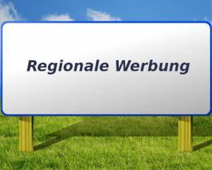 Regionale Werbung