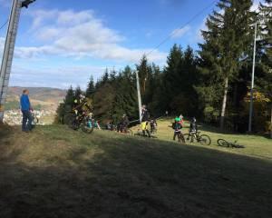 Aussicht von oben Skilift Hartenrod / Flowtrail Bad Endbach