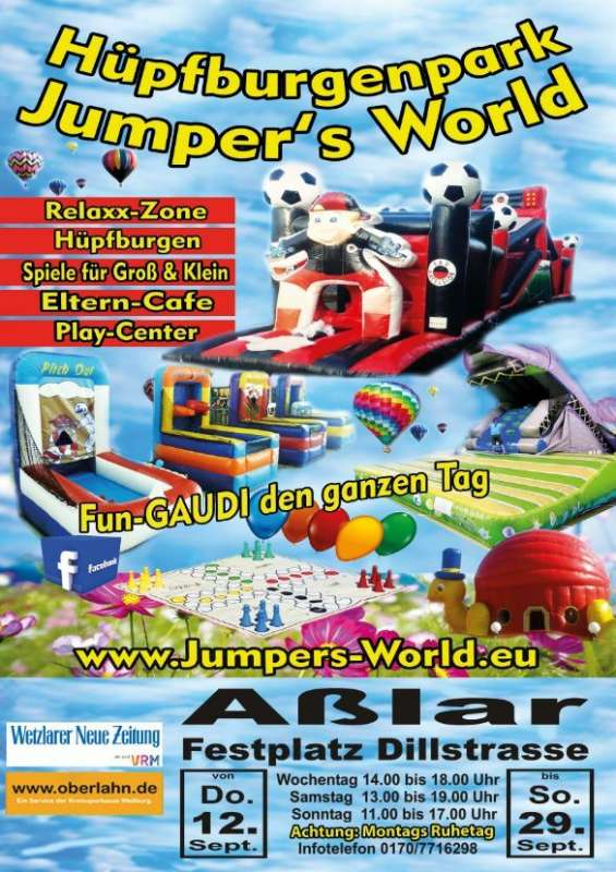 Jumpers World Outdoor in Aßlar