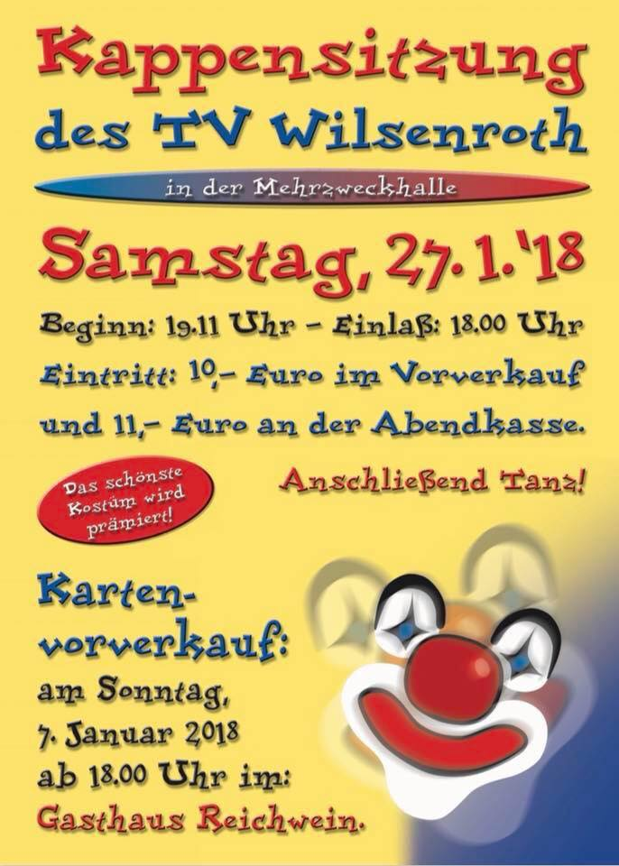 Kappensitzung TV Wilsenroth