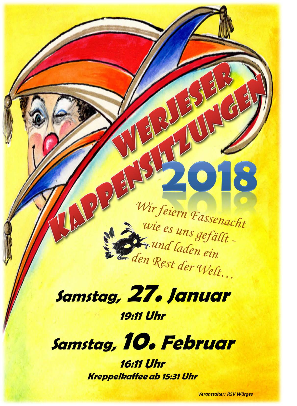 1. Kappensitzung in Bad Camberg-Würges 2018