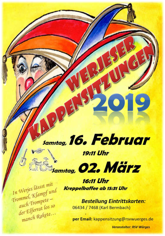 2. Kappensitzung in Bad Camberg-Würges 2019