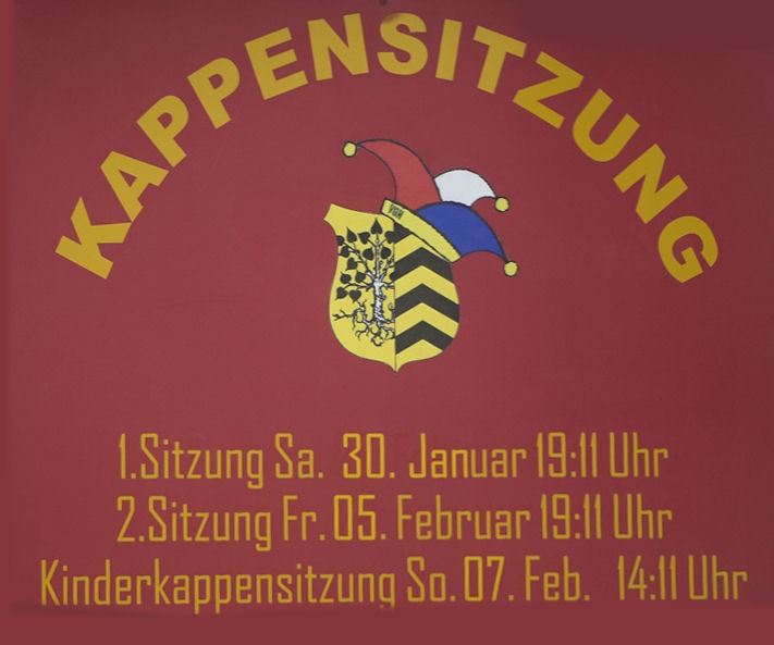 1. Kappensitzung in Nauheim
