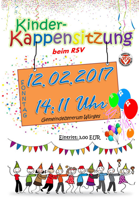 Kinderkappensitzung in Bad Camberg-Würges 2017