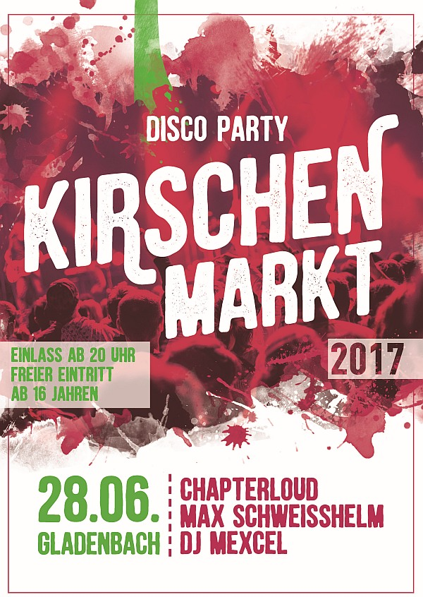 Kirschenmarkt DISCO PARTY