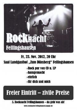 5. ROCKnacht Fellingshausen | Veranstaltung | Freizeit Mittelhessen