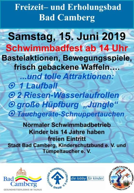 Schwimmbadfest Bad Camberg