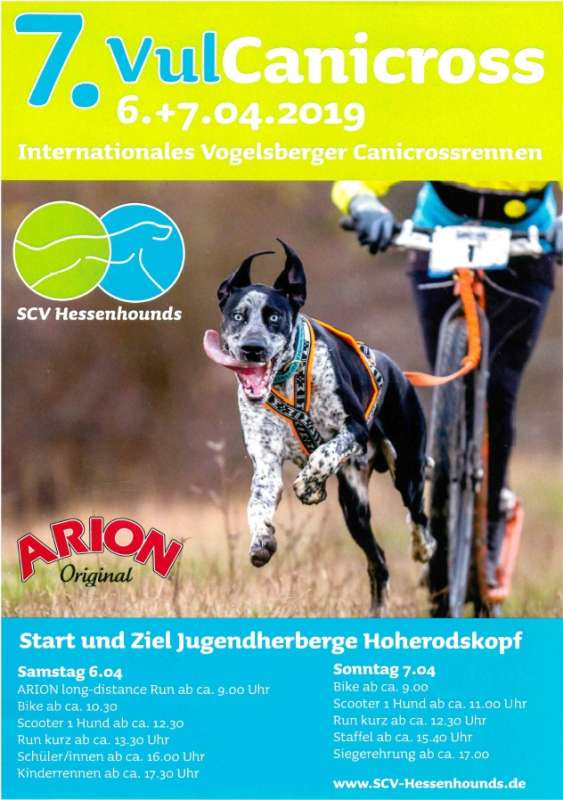 7. Internationales Vogelsberger Canicross-Rennen